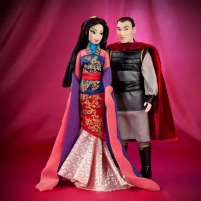 Mulan and Shang Doll