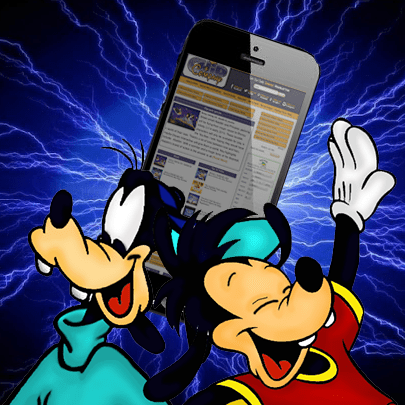 goofyandmaxphonecharging