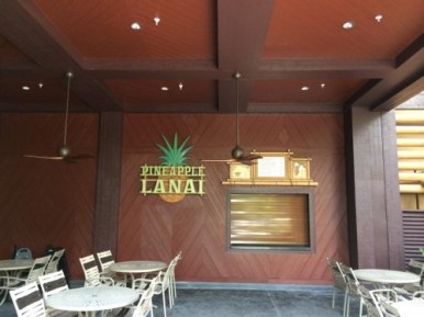 Pineapple Lanai seeting