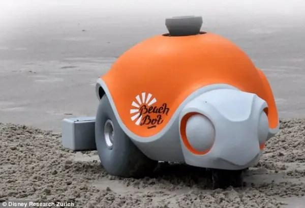 Research Disney Introduces BeachBot