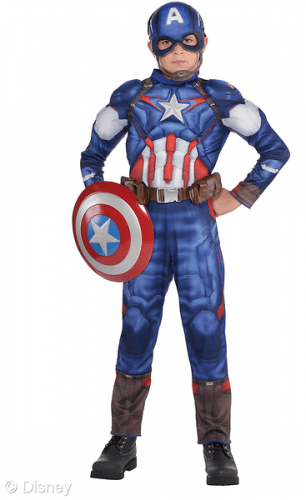 Marvel age of ultron costume