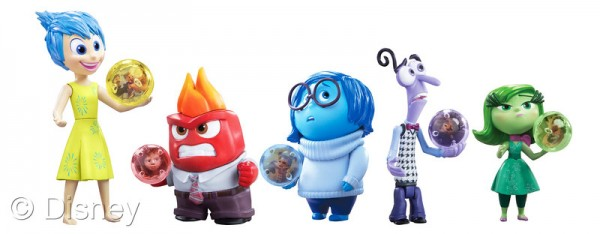 Inside out character figures