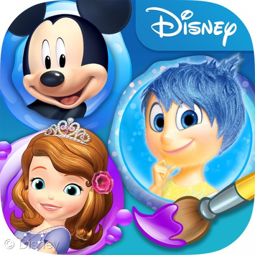 Inside out color and play app