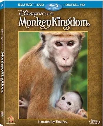 Monkey Kingdom DVD