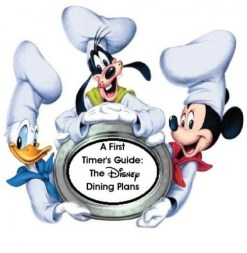 Disney Dining Plan for First guide