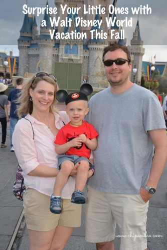 Fall Walt Disney World Vacation for Little Ones