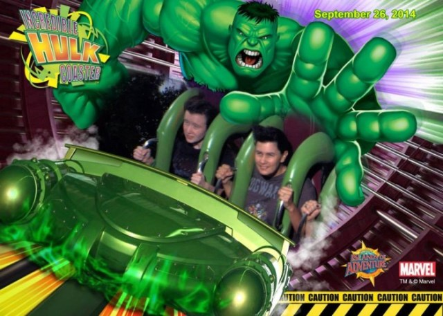 The Incredible Hulk Ride Universal Orlando