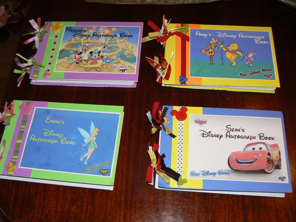 Where Can I Buy A Disney Autograph Book