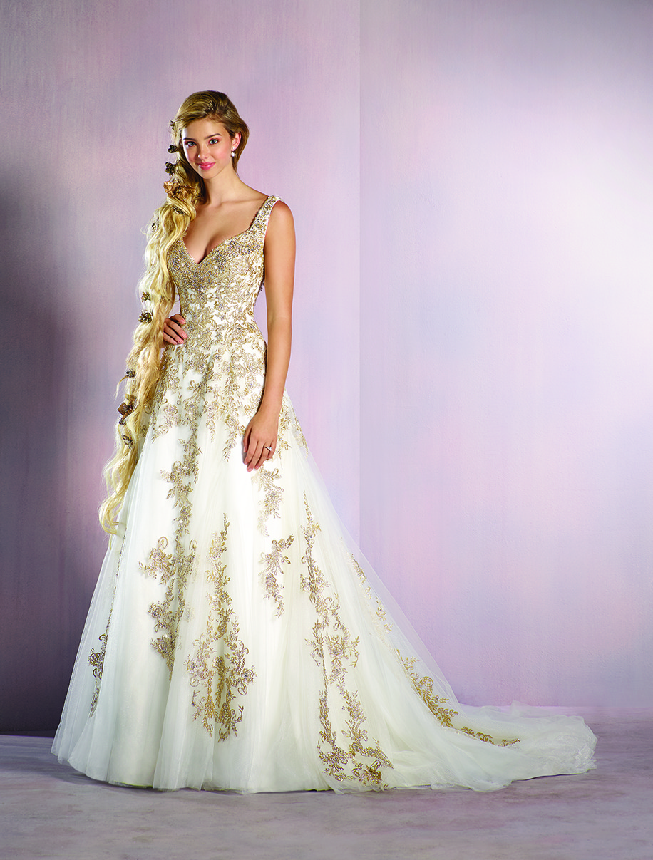 Alfred Angelo Unveiling Its 2016 Disney Fairy Tale Weddings Bridal ...