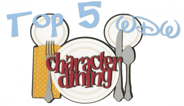 charcter dining