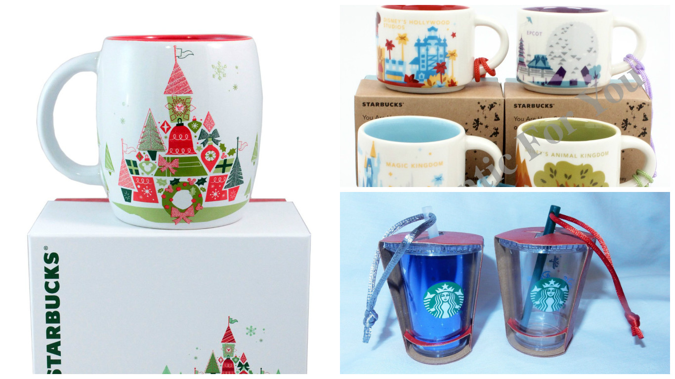 Starbucks Released New Christmas Collection At Disney World