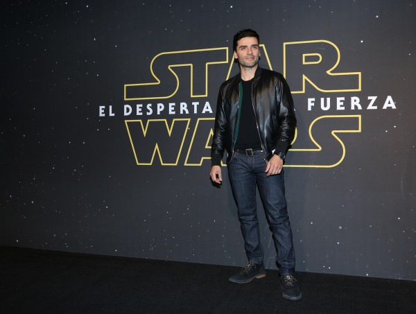 MEXICO CITY, MEXICO - DECEMBER 08: Actor Oscar Isaac attends the Fan Event and Q&A of Star Wars The Force Awakens at the Cinemex Antara In Mexico City, Mexico, December 08, 2015. The World Premiere will be the next December 18. (Photo by Victor Chavez/Getty Images for Walt Disney Studios)