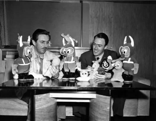 Walt Disney and Ronald Dahl