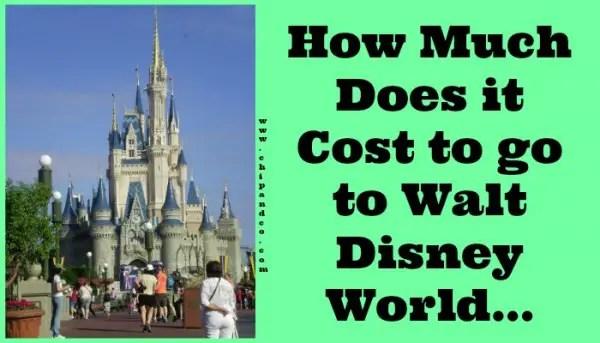 disney world cost