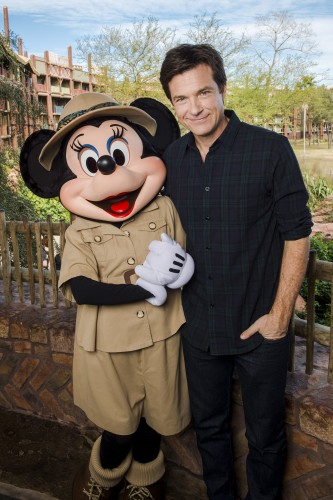 Jason Bateman Visits Walt Disney World Resort