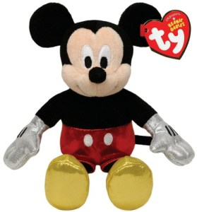 Mickey Beanie Baby