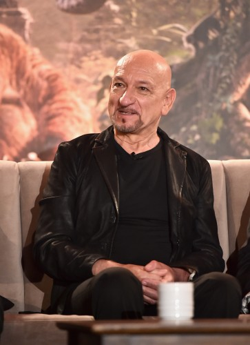"""LOS ANGELES, CALIFORNIA - APRIL 04: Actor Sir Ben Kingsley onstage at Disney's """"THE JUNGLE BOOK"""" Press Conference at The Beverly Hilton on April 4, 2016 in Los Angeles, California. (Photo by Alberto E. Rodriguez/Getty Images for Disney) *** Local Caption *** Ben Kingsley"""