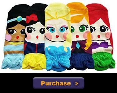 Disney Princess Socks Purchase