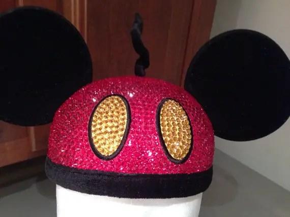 Swarovski Mickey Hat