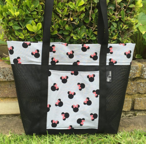 Can You Bring Backpacks Into Disney World: Splash Into Summer With Cute Minnie Mouse Beach Bags