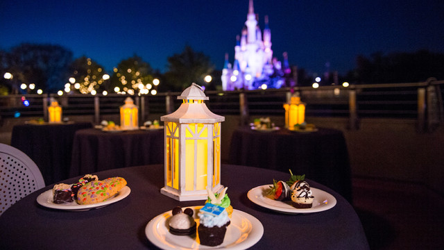 Wishes Dessert Party Adding Additional Fireworks Viewing Location