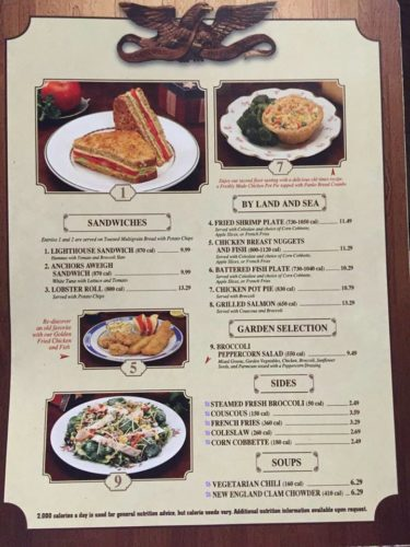 Calorie Contents Being Listed On Some Walt Disney World