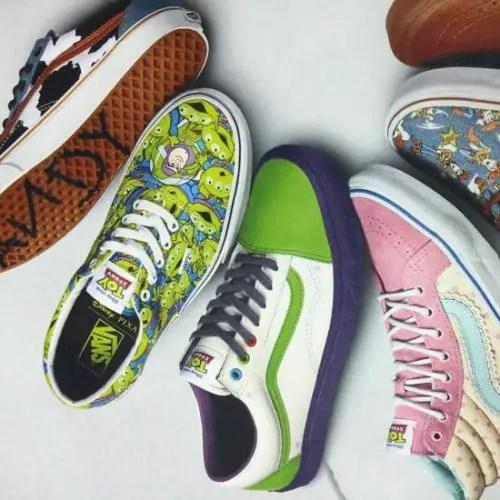 vans schoenen toy story