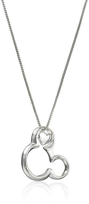 If You Can Dream It You Can Do It Mickey Mouse Heart Pendant