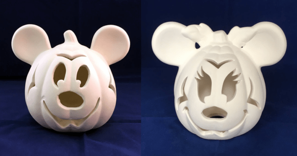 Ceramic Disney Pumpkins