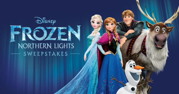 Frozen Northern Lights sweepstakes