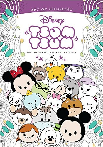 Disney Art Therapy Coloring Book Round Up Chip And Company
