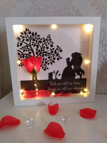 Enchanted Rose Frame
