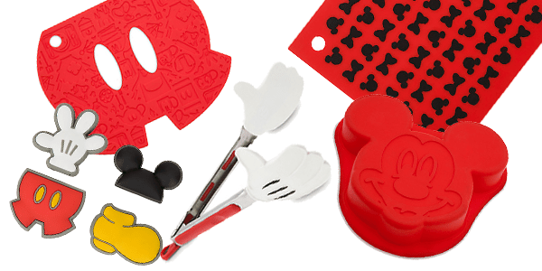 Bright And Bold Best Of Mickey Colorful Kitchen Accessories