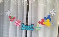 Fun and Fanciful Disney Resort Window Decoration Garlands ...