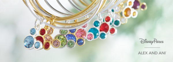 Mickey Mouse Birthstone Bangles