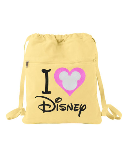 Heart Disney Backpack