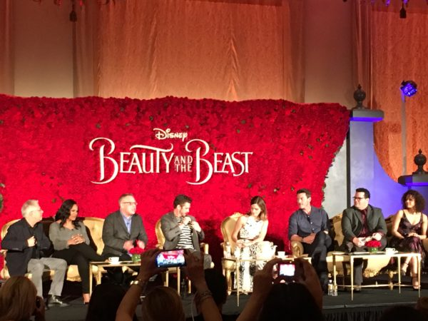 """Magic and The """"Beauty And The Beast"""" Press Conference 6"""