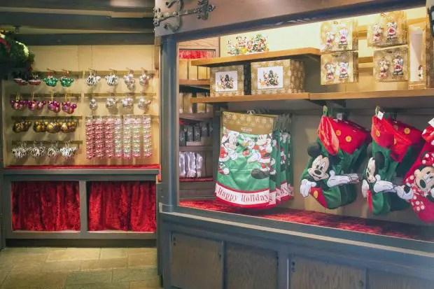 Castle Holiday Shoppe Merchandise