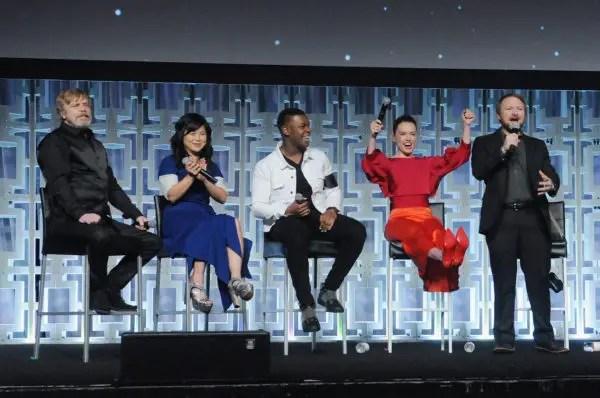 """Star Wars: The Last Jedi"" Panel Photos 6"