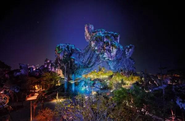 Nighttime in Pandora 2