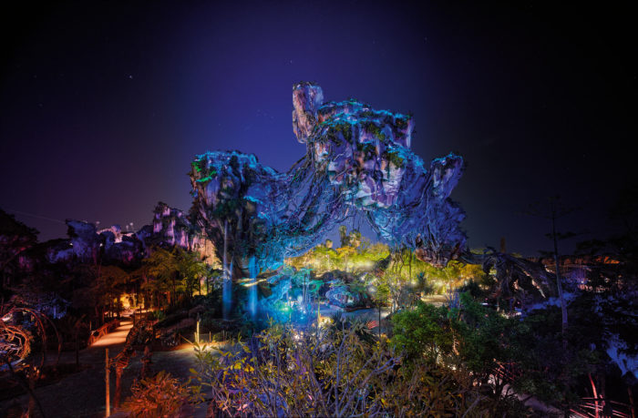 Nighttime in Pandora 2