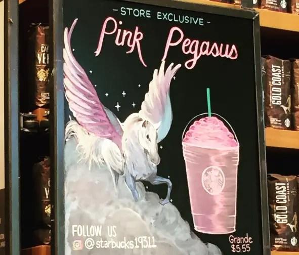 Pink Pegasus Starbucks