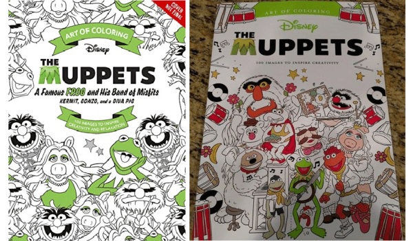 The Art of Coloring: Muppets Coloring Book Coming Soon!