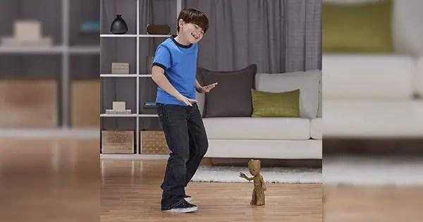 Dancing Groot Toy