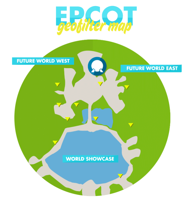 EPCOT GeoFilter Map