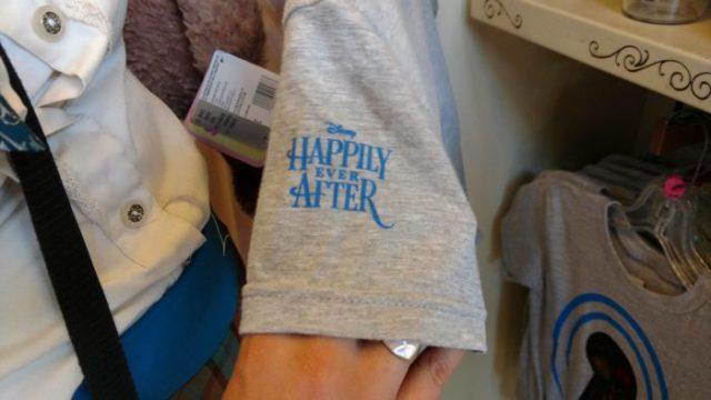"""New """"Happily Ever After"""" Merchandise Being Offered at The Magic Kingdom 8"""