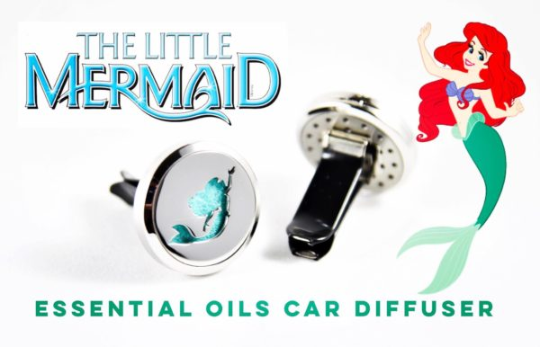 Little Mermaid Essential Oil Car Air Freshener