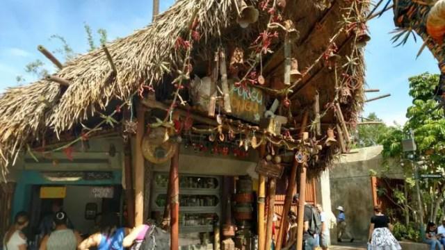First Look At The Pongu Pongu Refreshment Stand Menu in Pandora - The World of Avatar 1