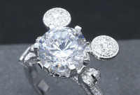 Wow! A Stunning Mickey Mouse Engagement Ring