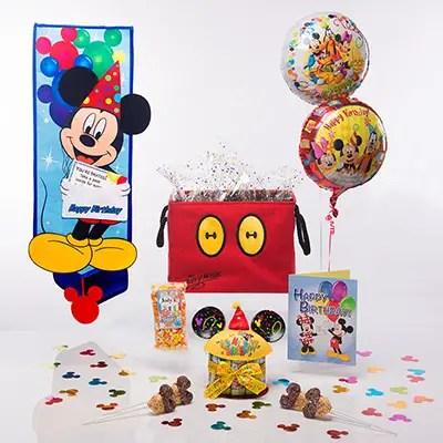 Mickey's Birthday Surprise In-Room Celebration
